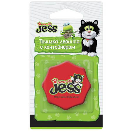 Точилка пластик Guess with Jess