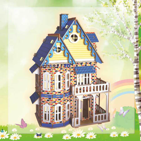 Сборн Дерев Модель Готический дом