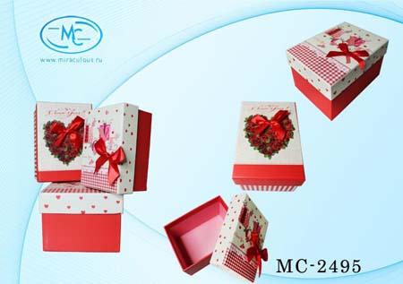 Набор подароч коробочек 3 в 1 ассорти -1