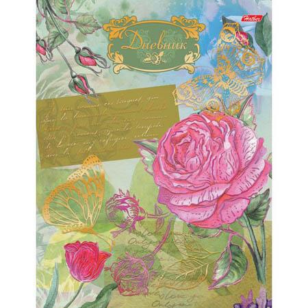 Дневник 1-11 7БЦ 40л «Цветущий сад» тиснение