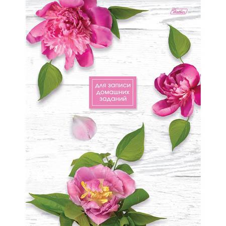 Дневник 1-11 7БЦ 40л «Flowers» для записи домашних