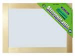 Доска двухстороняя магнитно-маркерно-меловая 36,5х26,5см (неокр.)
