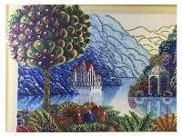 Картина из кристаллов 40х50см Красивый пейзаж