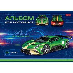 Альбом д/рис 24л «Car Design»