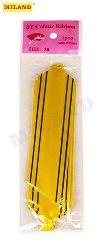 Бант-шар 3см Золотое сечение. Желтый