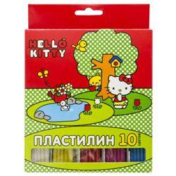 Пластилин 10цв Action! Hello Kitty 200гр