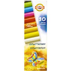 Пластилин 10цв Koh-I-Noor 200гр