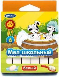 Мел белый 6шт Далматинцы