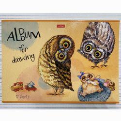 Альбом д/рис 12л «Милые зверушки»