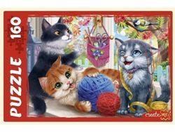 Пазлы 160эл «Забавные котики №2»