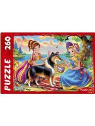 Пазлы 260эл «Сказка о принцессах»