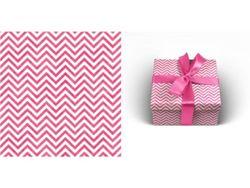 Упаковочная бумага 70х100см 90г/м2 Розовый павлин (1 лист в рулоне)
