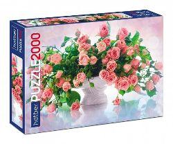 Пазлы 2000эл Premium Розовая нежность