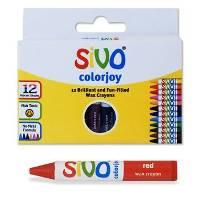 Восковые мелки 12цв SIVO «Colorjoy»