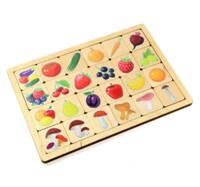 Игра деревянная Овощи-Фрукты-Ягоды-Грибы