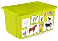 Детский ящик для хранения игрушек на 57л