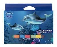 Мел Цветной 9шт «Океан»