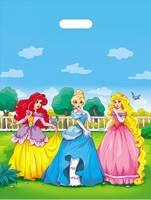 Пакет полиэтиленовый «Сказочные принцессы» (36,5смх48см)