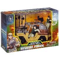 Игр. набор джип с солдатами Special Force