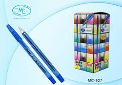 Ручка шариковая «Basir» 0.7мм СИНЯЯ полупрозрачный корпус