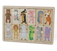 Игра деревянная Зоопарк