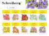 Декоративные цветы для украшения подарков 10х14см