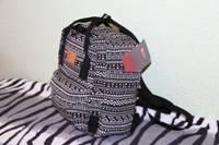 Рюкзак молодежный 28х22х9см Модный узор